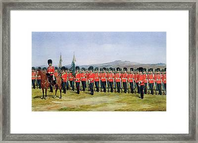 The Royal Fusiliers Framed Print