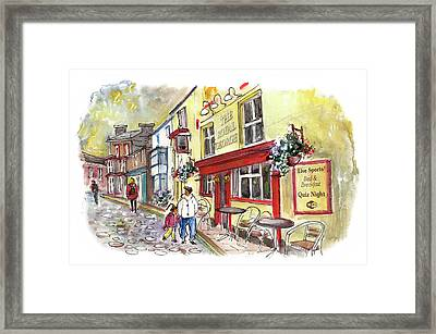 The Royal George In Staithes Framed Print