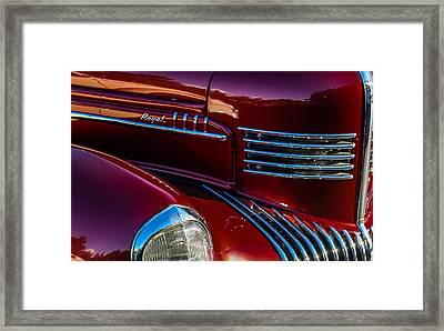 The Royal Framed Print by Mary Chris Hines