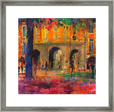 The Royal Pavillion Framed Print by Peter Graham