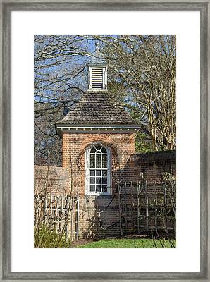 The Royal Potting Shed Framed Print