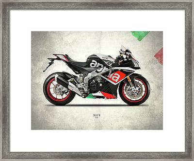 The Rsv4 Rf Framed Print by Mark Rogan