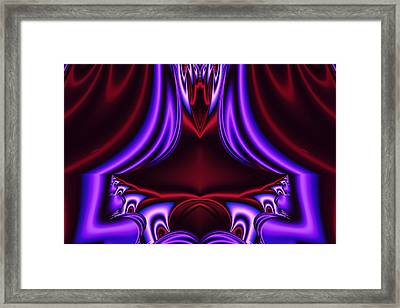 The Rubicund Throne Framed Print