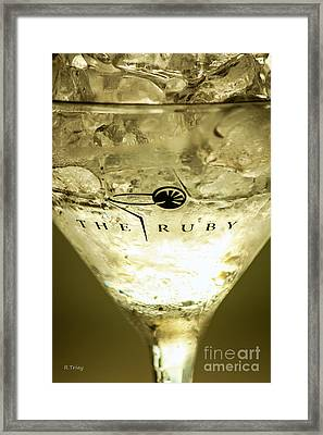 The Ruby Calls Framed Print by Rene Triay Photography