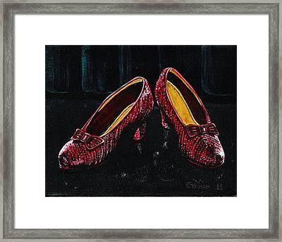 The Ruby's Framed Print