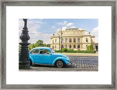 The Rudolfinium In Prague Framed Print