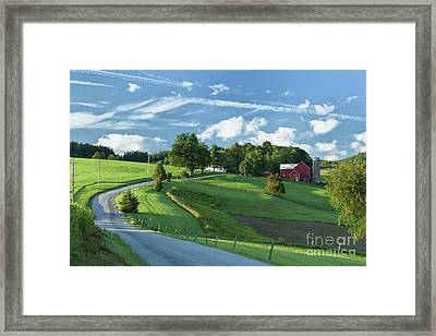 The Rudy Farm Framed Print by Nicki McManus