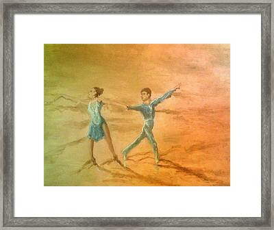 The Rumba Extension Framed Print