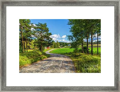 The Rural Landscape Framed Print by Veikko Suikkanen