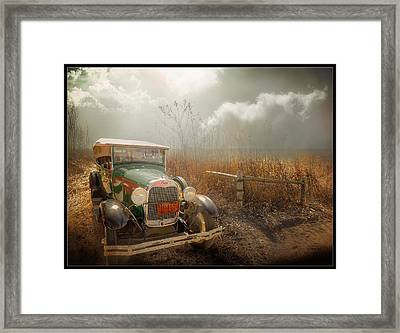 The Rural Route Framed Print
