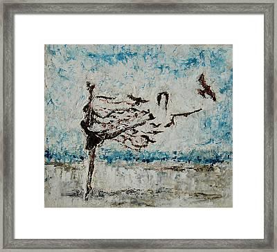 The Rush Framed Print by Tatiana Ilieva