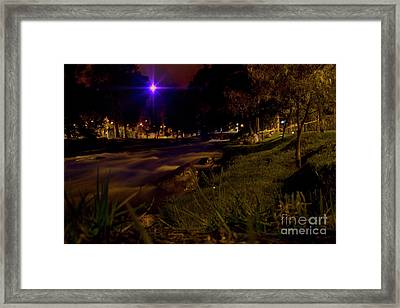Framed Print featuring the photograph The Rushing Rio Tomebamba IIi by Al Bourassa