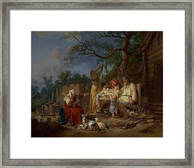 The Russian Cradle Framed Print