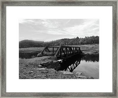 The Rusted Bridge Framed Print by Eric Radclyffe