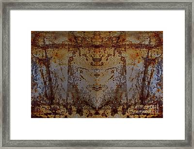 The Rusted Feline Framed Print