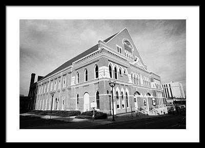 Ryman Auditorium Framed Prints
