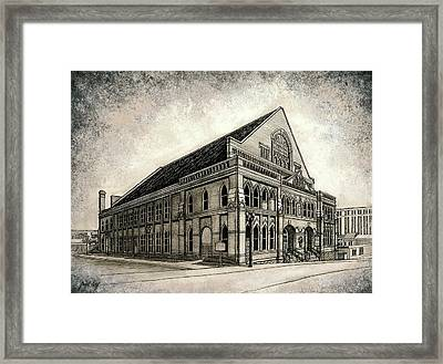 The Ryman Framed Print by Janet King