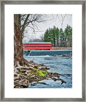 Framed Print featuring the photograph The Sachs by Mark Dodd