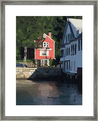 The Sacred Cod And Beacon Marine Framed Print