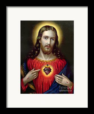 Catholic Icon Framed Prints