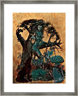 The Sacred Waters Framed Print