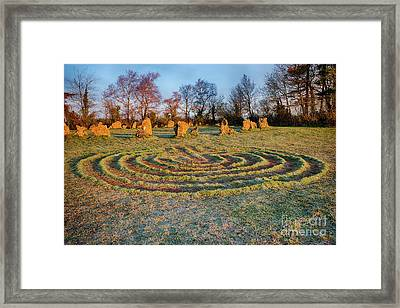 The Sacred Way Framed Print by Tim Gainey