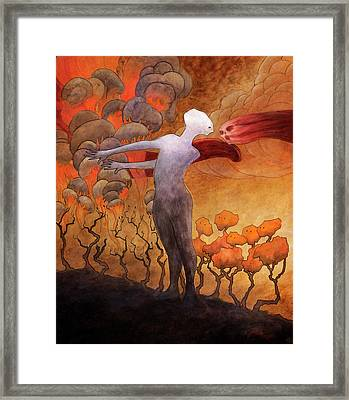The Sacrifice Framed Print by Ethan Harris
