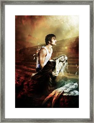 The Sacrifice Framed Print by Mary Hood