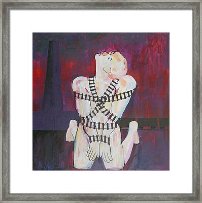 Framed Print featuring the painting The Sacrifice by Mordecai Colodner