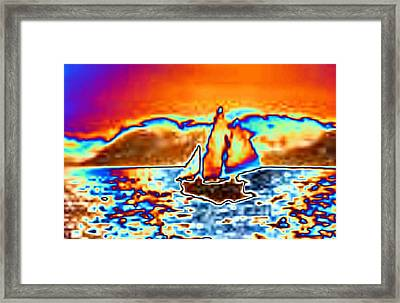 The Sail Framed Print by Tim Allen