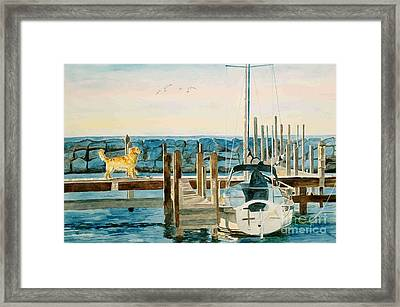 The Sailmate Framed Print