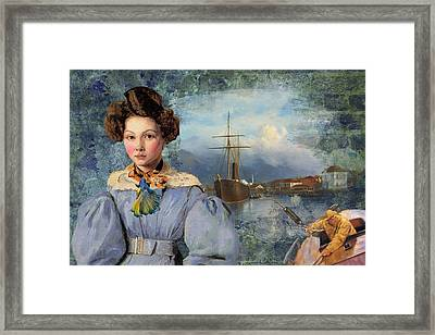 The Sailor And The Maiden Framed Print