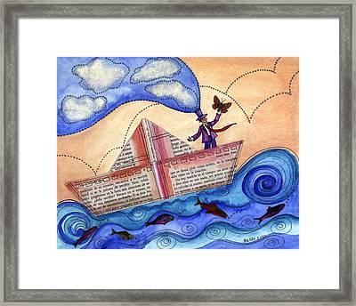 The Sailor Dreamer Framed Print by Graciela Bello