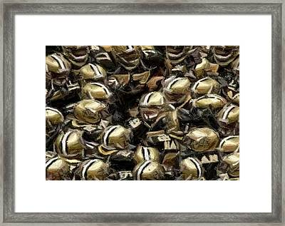 The Saints Framed Print