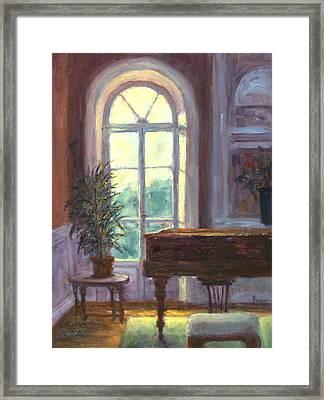 The Salon Framed Print by Jill Musser