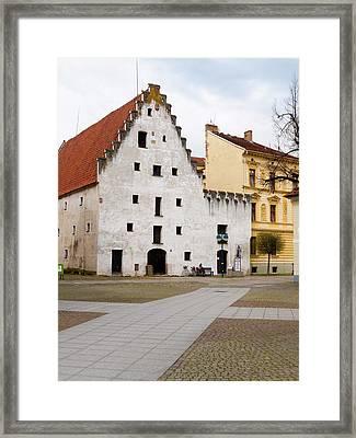 The Salt House Framed Print by Rae Tucker