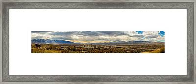 The Salt Lake Valley 2016 Framed Print