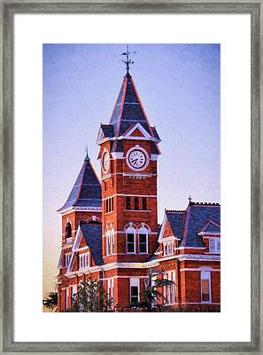 The Samford Clock Tower Framed Print by JC Findley
