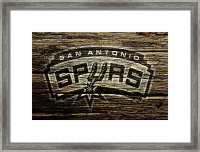 The San Antonio Spurs 2a Framed Print