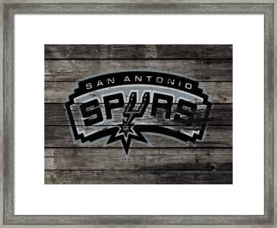 The San Antonio Spurs 3a Framed Print