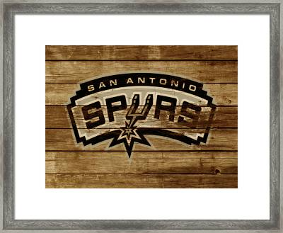 The San Antonio Spurs 3c Framed Print