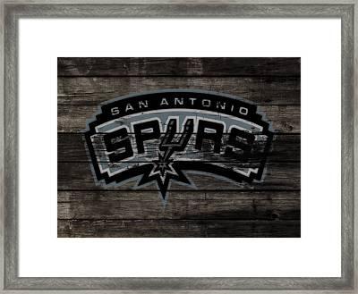 The San Antonio Spurs 3e Framed Print