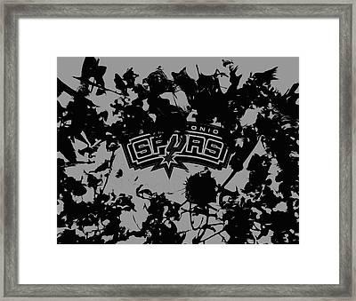 The San Antonio Spurs Framed Print