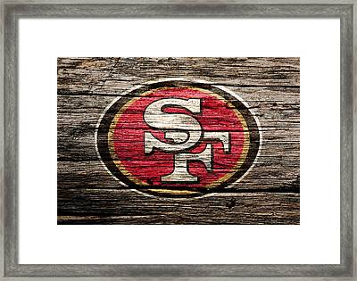 The San Francisco 49ers 2b Framed Print by Brian Reaves