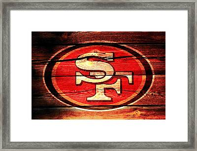 The San Francisco 49ers 3a Framed Print by Brian Reaves
