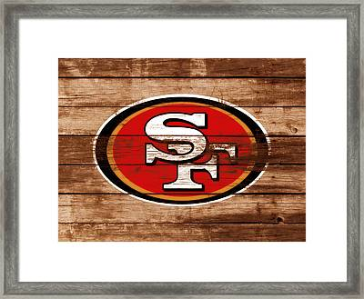 The San Francisco 49ers 3b    Framed Print by Brian Reaves