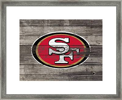 The San Francisco 49ers 3f Framed Print by Brian Reaves