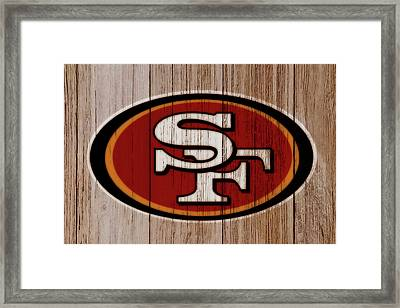 The San Francisco 49ers 4a   Framed Print by Brian Reaves