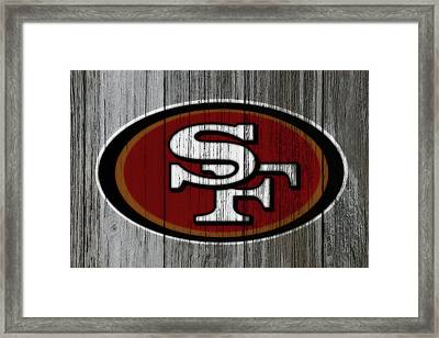 The San Francisco 49ers 4b Framed Print by Brian Reaves