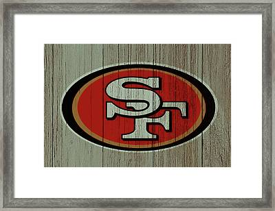 The San Francisco 49ers 4d    Framed Print by Brian Reaves